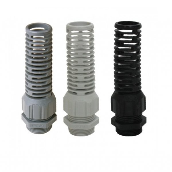 Spiral Type IP-68 Polyamide Cable Glands