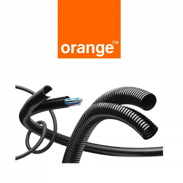 ORANGE elige los tubos TWINFLEX de Fleximat