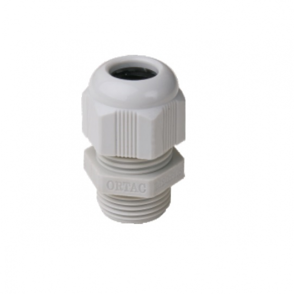 IP-68 Metric Thread Light Grey Polyamide Fleximat Cable gland
