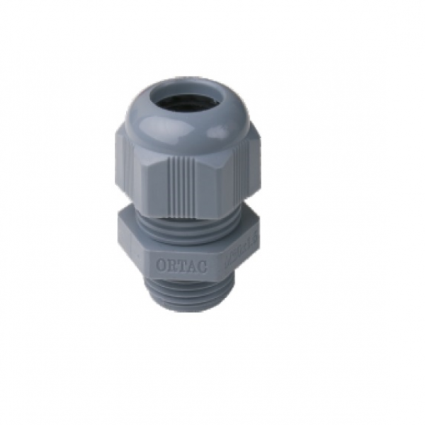 IP-68 Metric Thread Grey Polyamide Fleximat Cable gland