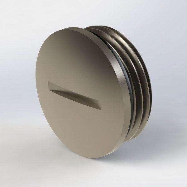 Blind-Stop Round PG Thread Metallic IP-68