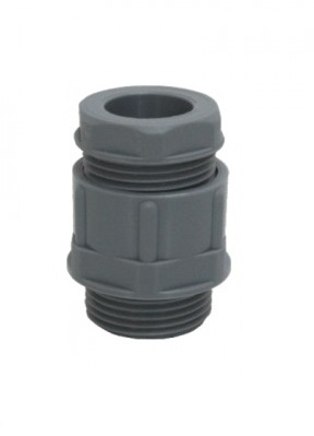 CableGland FLEXIMAT Metric Thread ClosedSeal IP-54 Grey Oscuro
