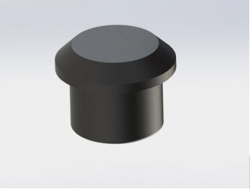 Blind-Stop Sealing Metric Thread PA6 Black